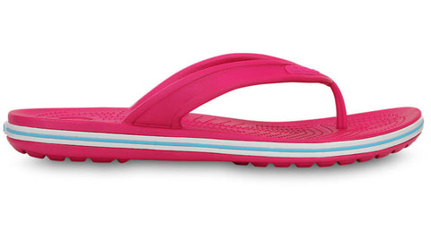 Crocs Crocband LoPro Flip Candy Pink Electric Blue