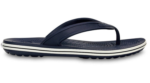 Crocs Crocband LoPro Flip Navy - Sole Central