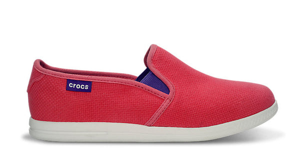 Crocs LoPro Full Vamp Slip on Sneaker Glam Pink