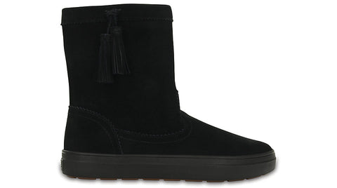 Crocs LodgePoint Suede Pullon Boot Black