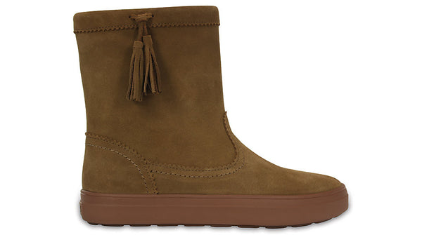 Crocs LodgePoint Suede Pullon Boot Hazelnut