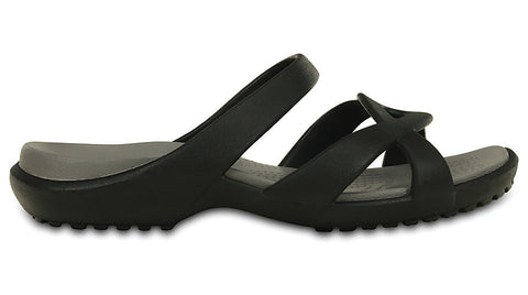 Crocs Meleen Twist Sandal Black Smoke
