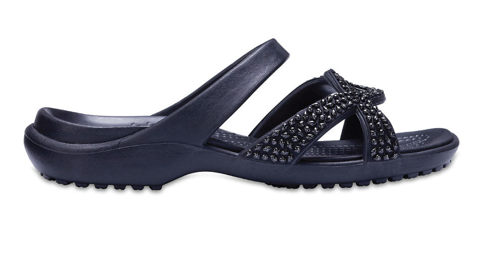 b16f95c29c4f Crocs Meleen Twist Diamante Black