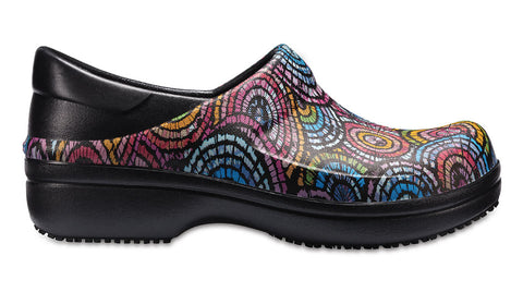 Crocs Neria Pro Clog Graphic Black Multi-Clogs