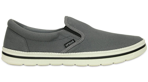 Crocs Norlin Slip On Charcoal White