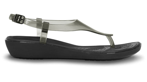 Crocs Really Sexi T-Strap Sandal Black