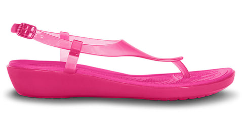 Crocs Really Sexi T-Strap Sandal Candy Pink