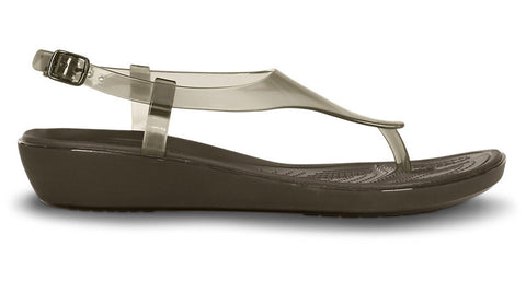 Crocs Really Sexi T-Strap Sandal Espresso