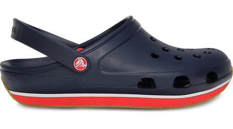 Crocs Retro Clog Navy Red