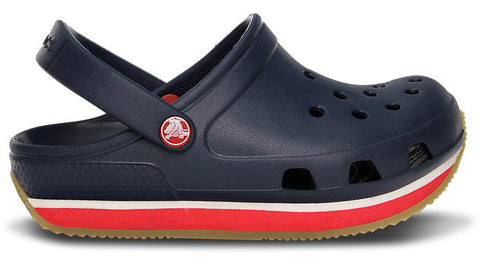 Crocs Kids Retro Clog Navy Red