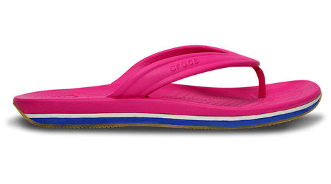 Crocs Retro Flip Fuchsia Sea Blue