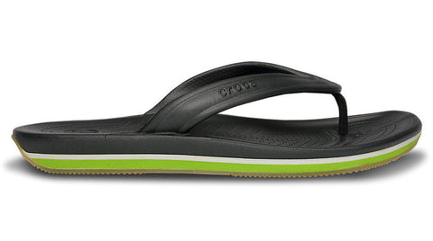 Crocs Retro Flip Graphite Volt Green