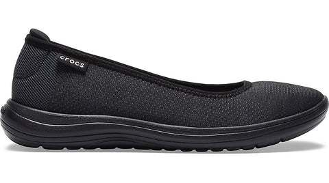 Crocs Reviva Flat Black