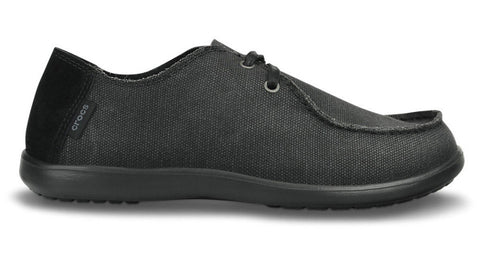 Crocs Santa Cruz 2-eye Canvas Black