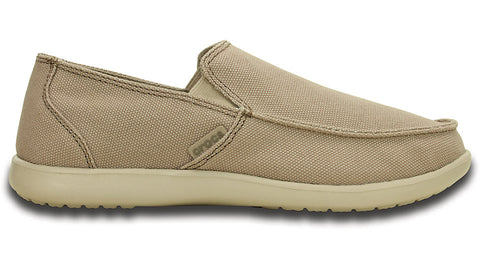 Crocs Santa Cruz Clean Cut Loafer Khaki Cobblestone