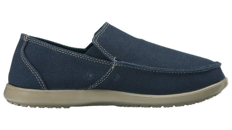 Crocs Santa Cruz Clean Cut Loafer Navy Tweed