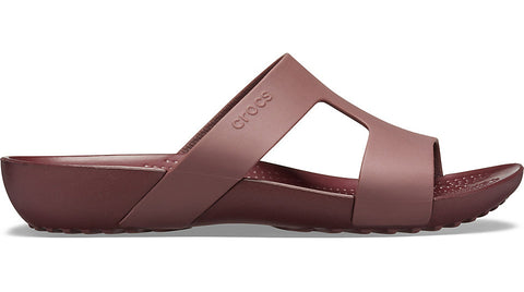 Crocs Serena Slide Burgundy