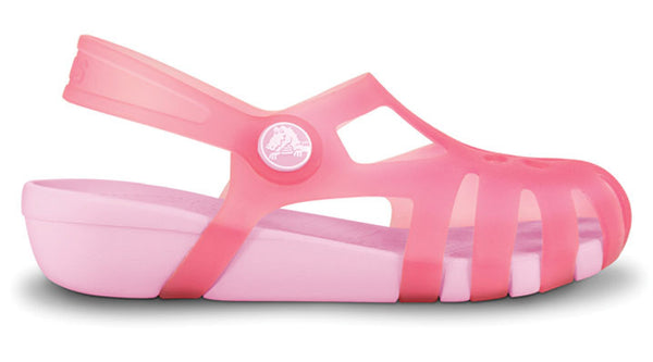 Crocs Girls Shirely Hot Pink Bubblegum