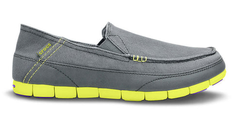 Crocs Stretch Sole Loafer Charcoal Citrus