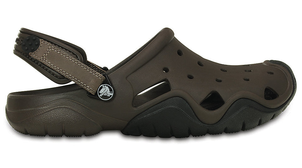28a40a98010 Crocs Swiftwater Clog Espresso Black