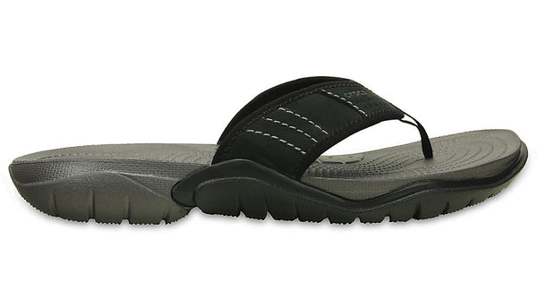 Crocs Swiftwater Flip Graphite Black