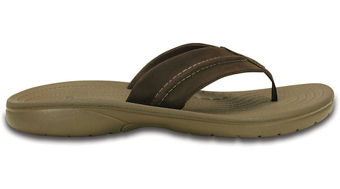 Crocs Swiftwater Flip Walnut Espresso
