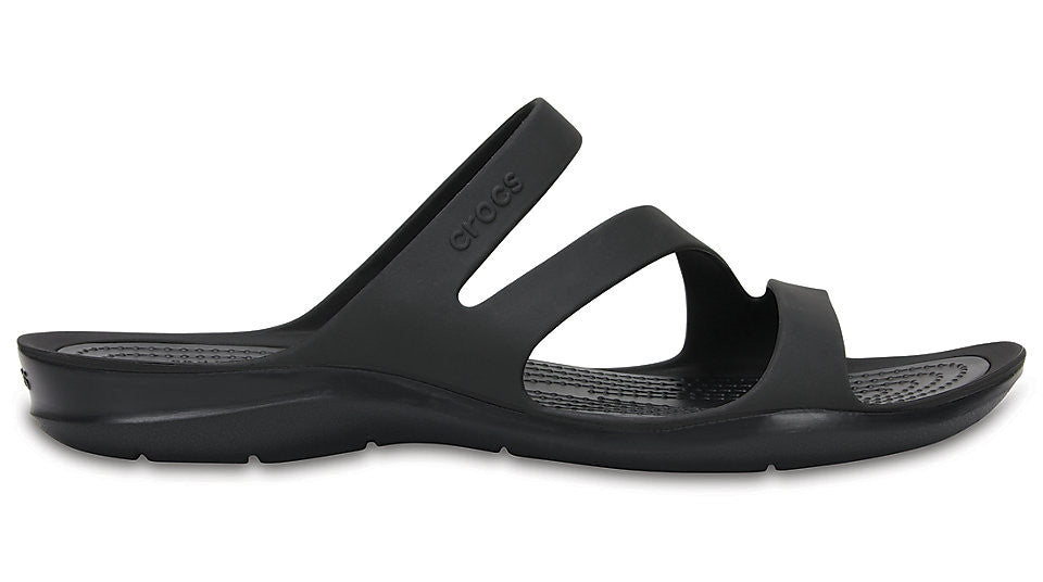 119917a8eb3284 Crocs Swiftwater Sandal Black – Sole Central