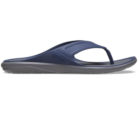 Crocs Swiftwater Wave Flip Navy Slate Grey