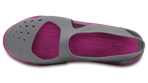 364ed06df2edff Crocs Swiftwater Wave Smoke – Sole Central