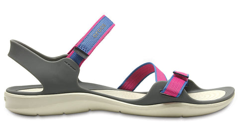 Crocs Swiftwater Webbing Sandal Candy Pink