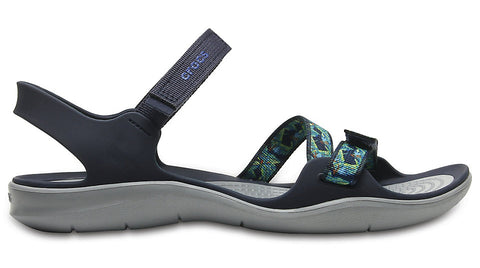 Crocs Swiftwater Webbing Sandal Navy