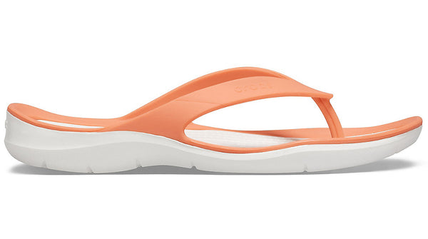 Crocs Swiftwater Flip Grapefruit White-Sandals
