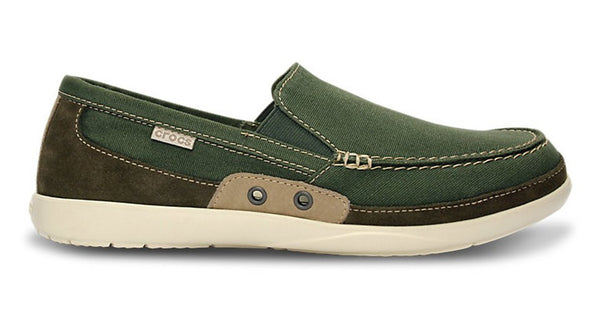 Crocs Walu Accent Army Green Stucco