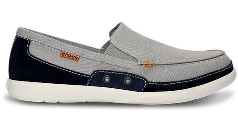 Crocs Walu Accent Light Grey Navy