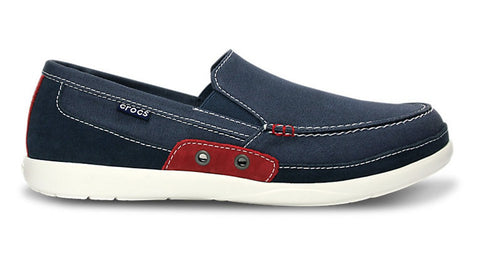 Crocs Walu Accent Navy True Red