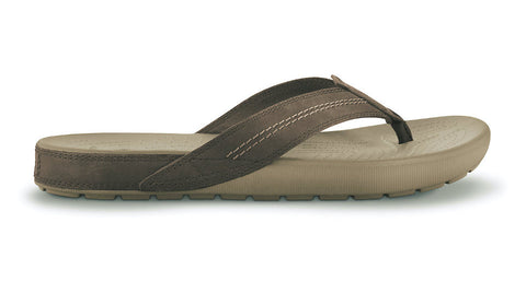 Crocs Yukon Flip Khaki Coffee