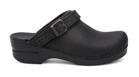 Dansko Ingrid Oiled Black