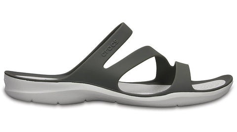 Crocs Swiftwater Sandal Smoke White-Sandals
