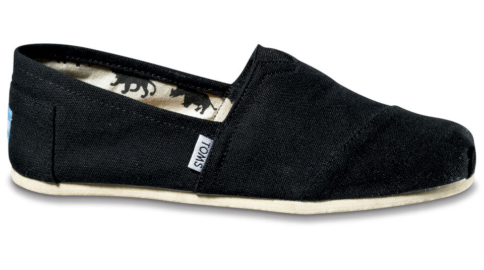 8a332cf72be TOMS Classic Black Canvas - Women s – Sole Central