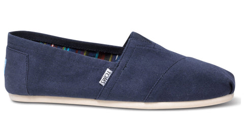 TOMS Classic Navy Canvas - Men's