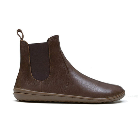 Vivobarefoot Women's Fulham Brown Leather