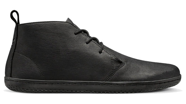 Vivobarefoot Men's Gobi II Black Leather