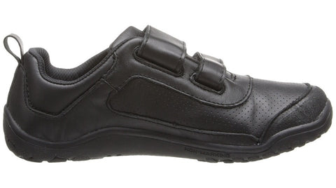 Vivobarefoot Kids Neo Velco Leather Black