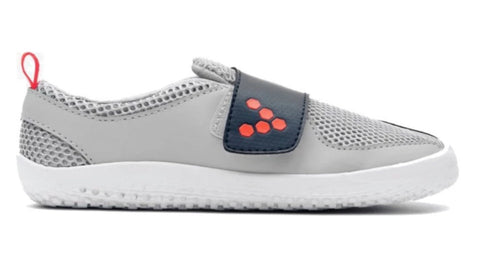 Vivobarefoot Primus Junior Grey Navy Orange