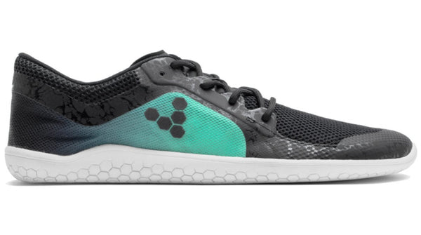 Vivobarefoot Men's Primus Lite Black Spearmint Green