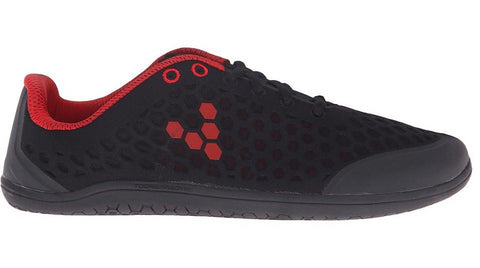 Vivobarefoot Stealth II Black Red (Womem's)