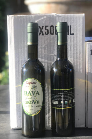 2018 - 500 ml. Bottles - Case of 12 Extra Virgin Olive Oil
