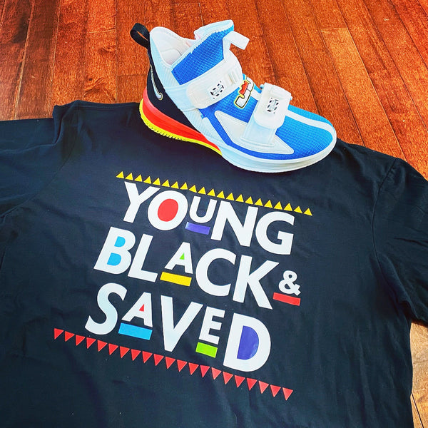 Young, Black, & Saved T-shirt