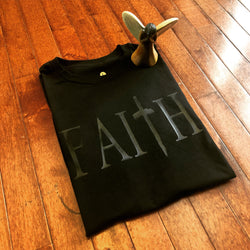 Faith T-shirt (Blacked Out)
