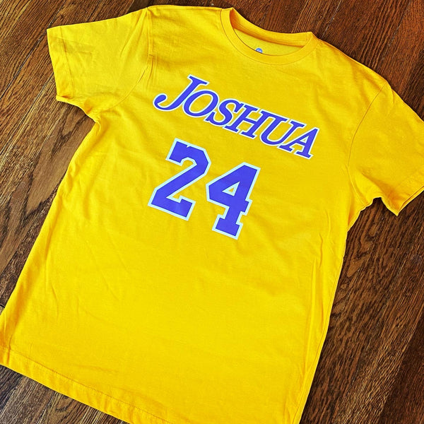 Joshua 24 (Kobe tribute) T-shirt